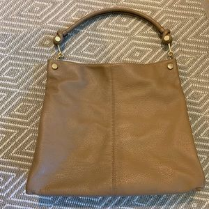 Beautiful 100% Leather Tan Vince Camuto bag